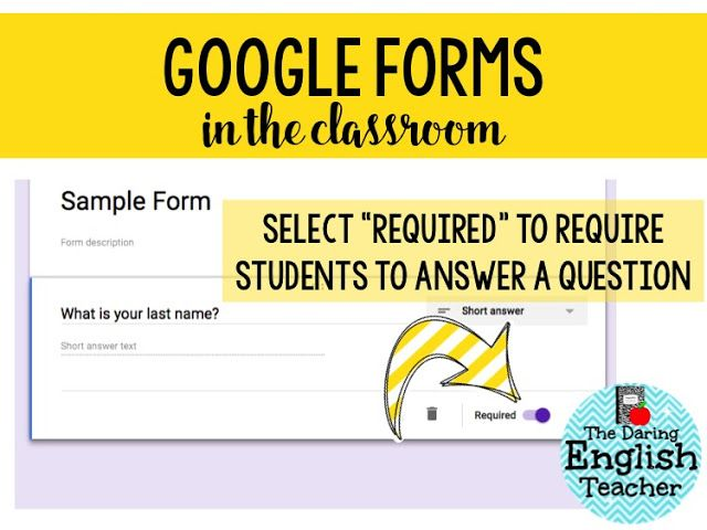 How to use the data validation feature in Google Forms in your classroom as an effective teaching tool