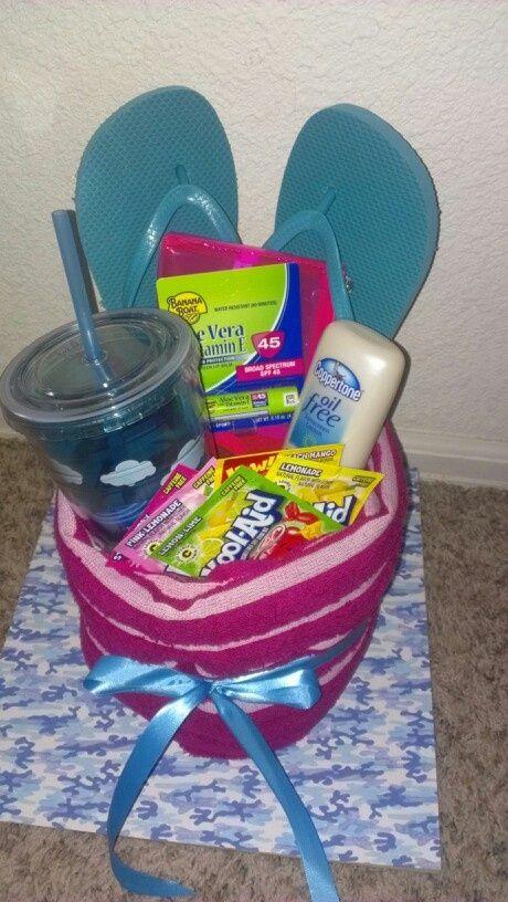 Pin By Larissa Lye On Gift Ideas Summer Gift Baskets