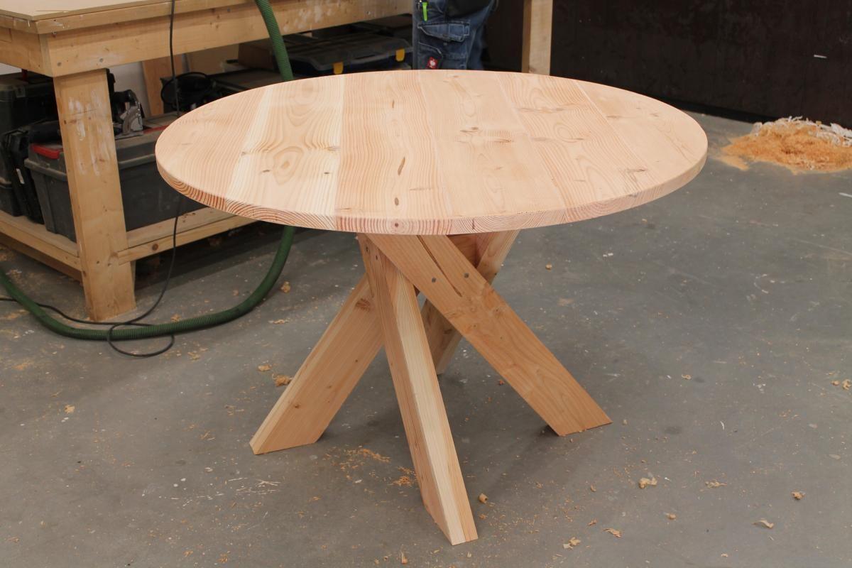 Zelf Tafel Maken : Zelf een houten tafel maken eigen huis en tuin tafels