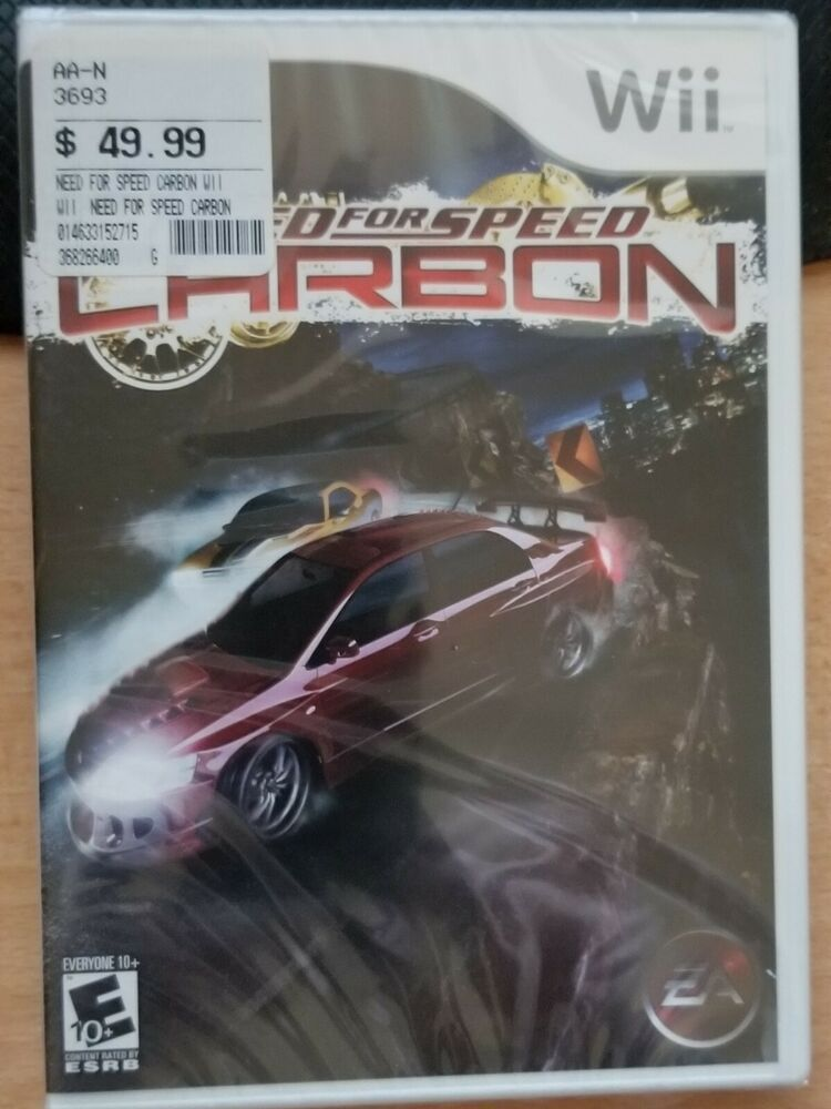 Need For Speed Carbon Nintendo Wii New Sealed Need For Speed Carbon Wii Need For Speed