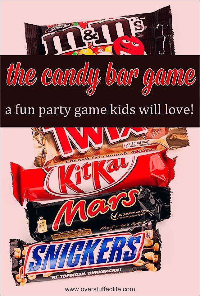 Photo of The Candy Bar Game—a Fun Party Game for All Ages!