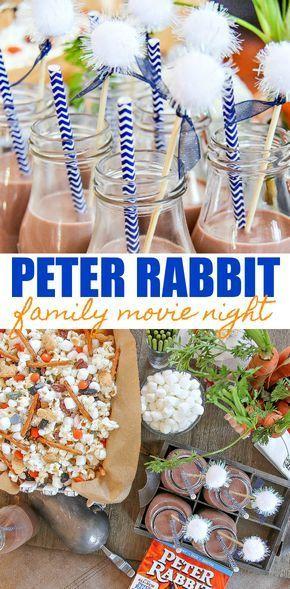 Enjoy a Peter Rabbit Themed Movie Night with Kids | Tonya Staab