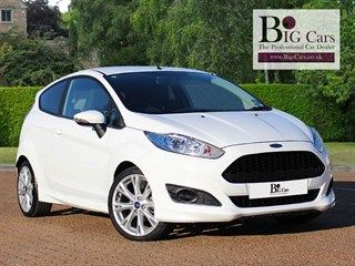 Ford Fiesta Zetec S Ecoboost Bluetooth Usb Www Big Cars Co Uk Used Cars Cars Ford