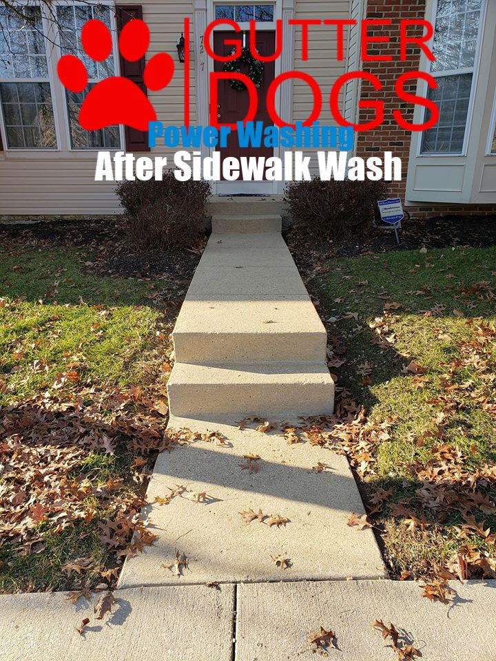 Concrete power washing maryland roof cleaning concrete