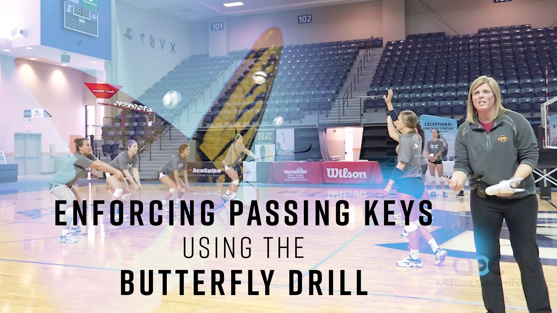 Enforcing Passing Keys Using The Butterfly Drill Drill Coaching Volleyball Coaching