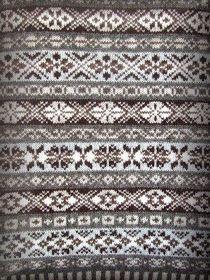 Irina: Fair Isle (Shetland Islands - Scotland) jacquard knitting. PATTERNS.,  #Fair #Irina #I... #shetlandislands