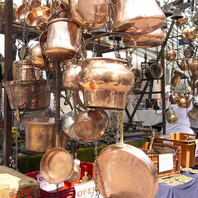 Copperware Shopping
