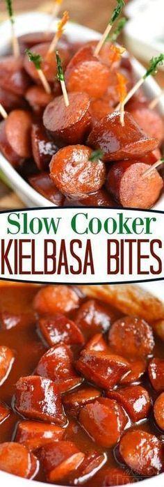 Photo of SLOW COOKER KIELBASA BITES