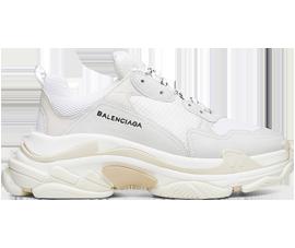 Buy Balenciaga Triple S Trainers White