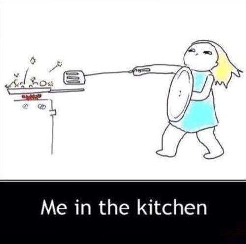 I've got mad skills in the kitchen!
