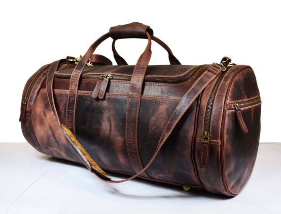 Genuine Leather Travel Bag 4738f921c18a3