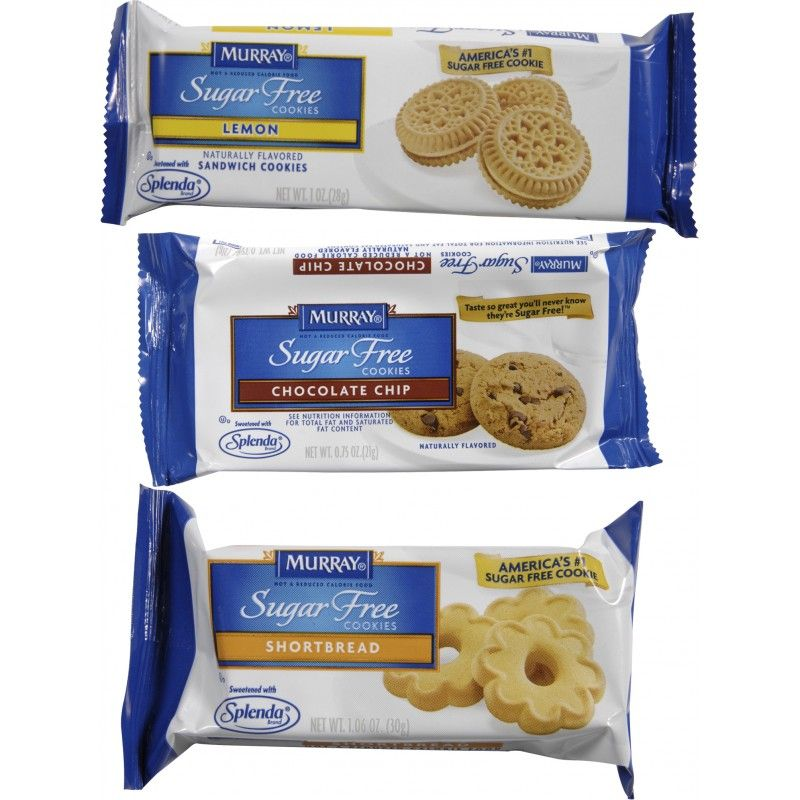 Case of 120 single serve packs of assorted cookies