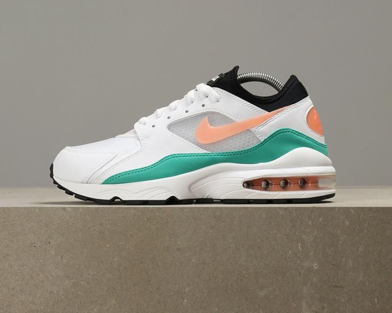 9b744b041b Nike Air Max 93 Watermelon - White / Crimson Bliss / Kinetic Green: UK 7.5  - £98.10 - Jeans and Street Fashion from Jeanstore