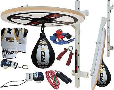 RDX Adjustable Speed Ball Platform Set Boxing Punch Bag Bracket Speedball MMA