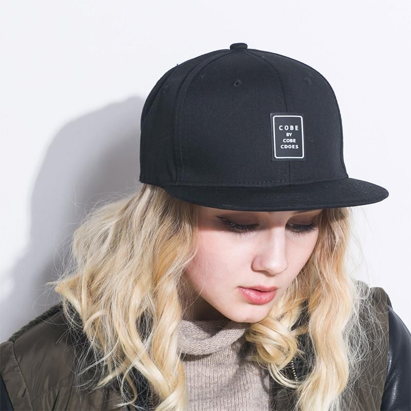 762e5f8fe7f85 Quality Snapback cap brand flat brim baseball cap youth hip hop cap and hat  for boys and girls white Black cap for men