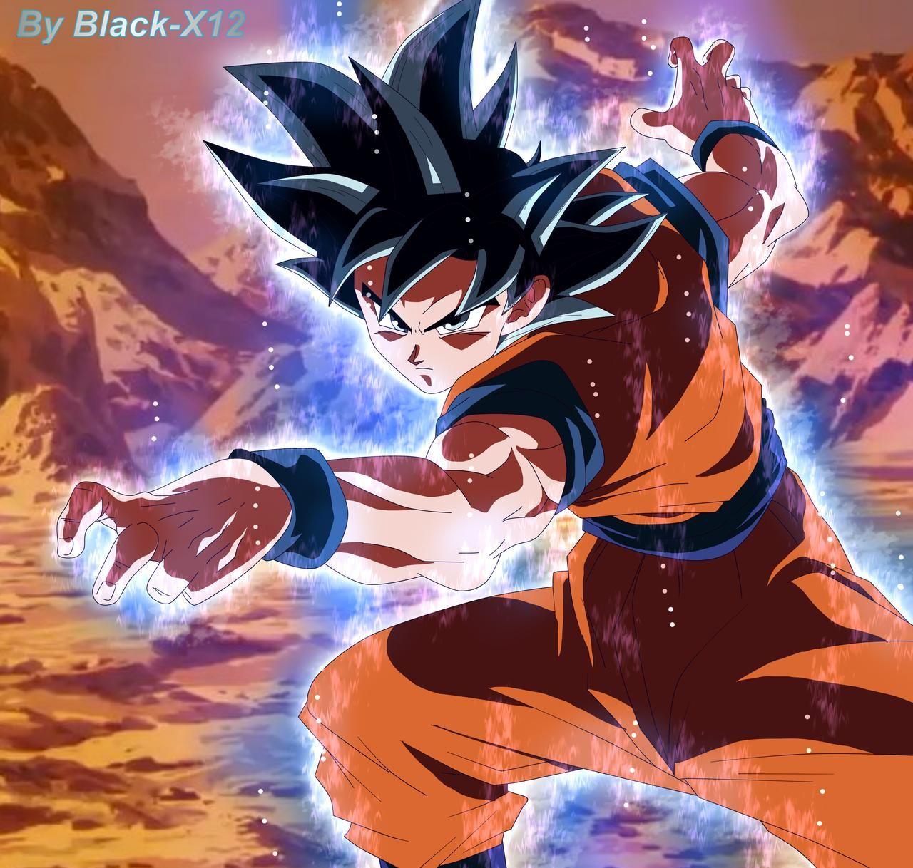 Goku Ultra Instinct Anime Coloring By Black X12 On Deviantart Dragon Ball Wallpaper Iphone Anime Dragon Ball Super Dragon Ball Image