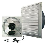 Vpes Outdoor Rated Shutter Exhaust Fan W Cord 12 Inch 1100 Cfm 3 Speed Vpes12 Outdoor Shutters Aluminum Shutters Exhaust Fan
