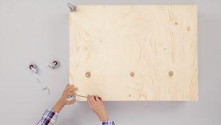 installation roues tiroir sous lit | Rangement tiroir, Rangement sous lit, Fabriquer un tiroir