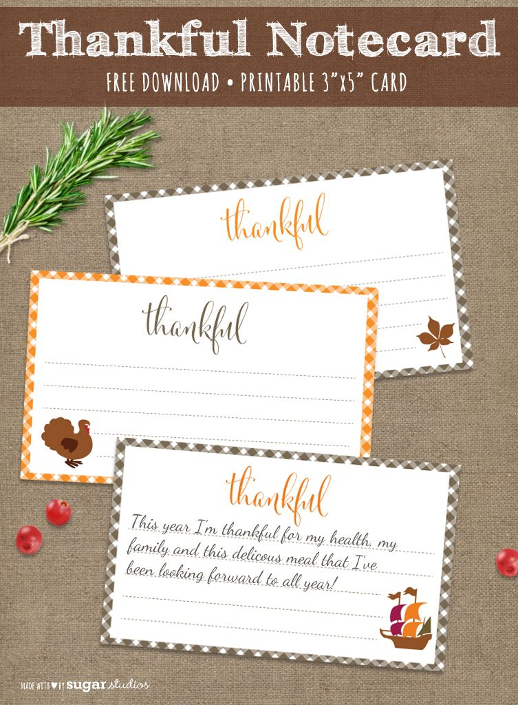 picture regarding Printable Notecard referred to as Thanksgiving Cost-free Printable Notecard holiday seasons