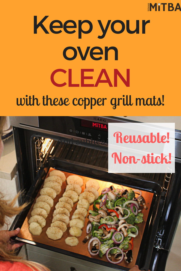Copper Grill Mats By Mitba Best Baking Grilling Accessories Ever These Non Stick Reusable Magic Gadgets Will Get You F Grilling Recipes Grilling Recipes