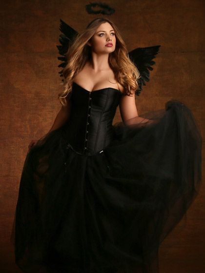 Plus size sexy angel costume