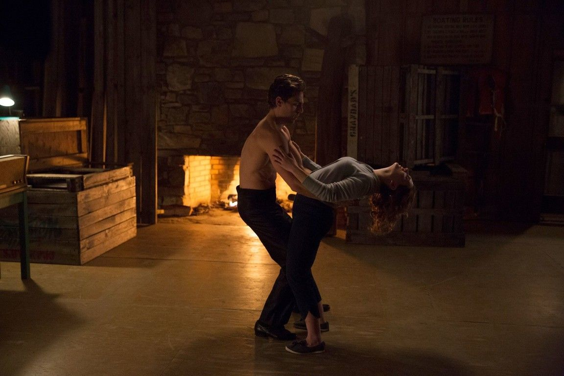 Dirty dancing spoke its conscience with its hips