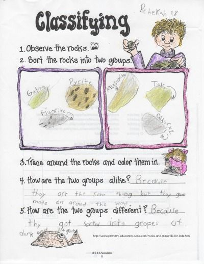 A Fun Way To Work On Inquiry Skills With Rocks And
