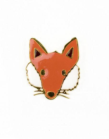 Mödernaked - Fox Brooch. // Exclusive Jewellery