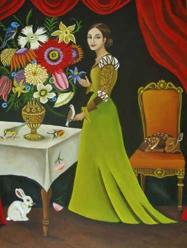 Part Of The Arrangement-New Painting, painting by artist Catherine Nolin