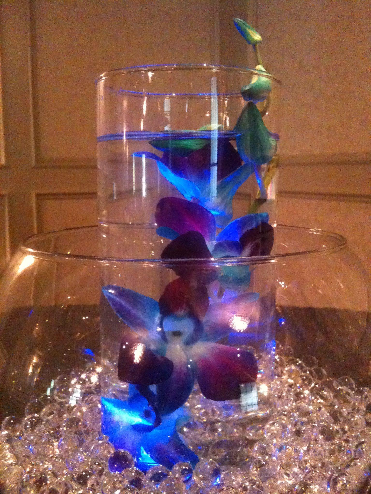Purple and blue wedding decor  Pin by Jennifer Sachs on Purple u Blue Wedding  Pinterest  Modern