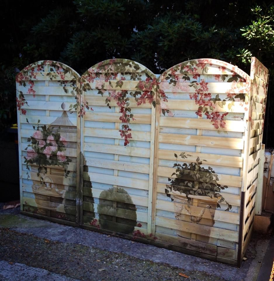 Garden Decor Using Pallets: Best Pallet Fence Ideas : Wall Decor With Pallet Fence