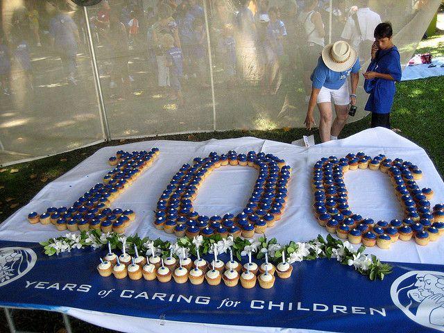 100th Birthday Cupcakes 100th Birthday Party 100th Birthday 100 Years Celebration