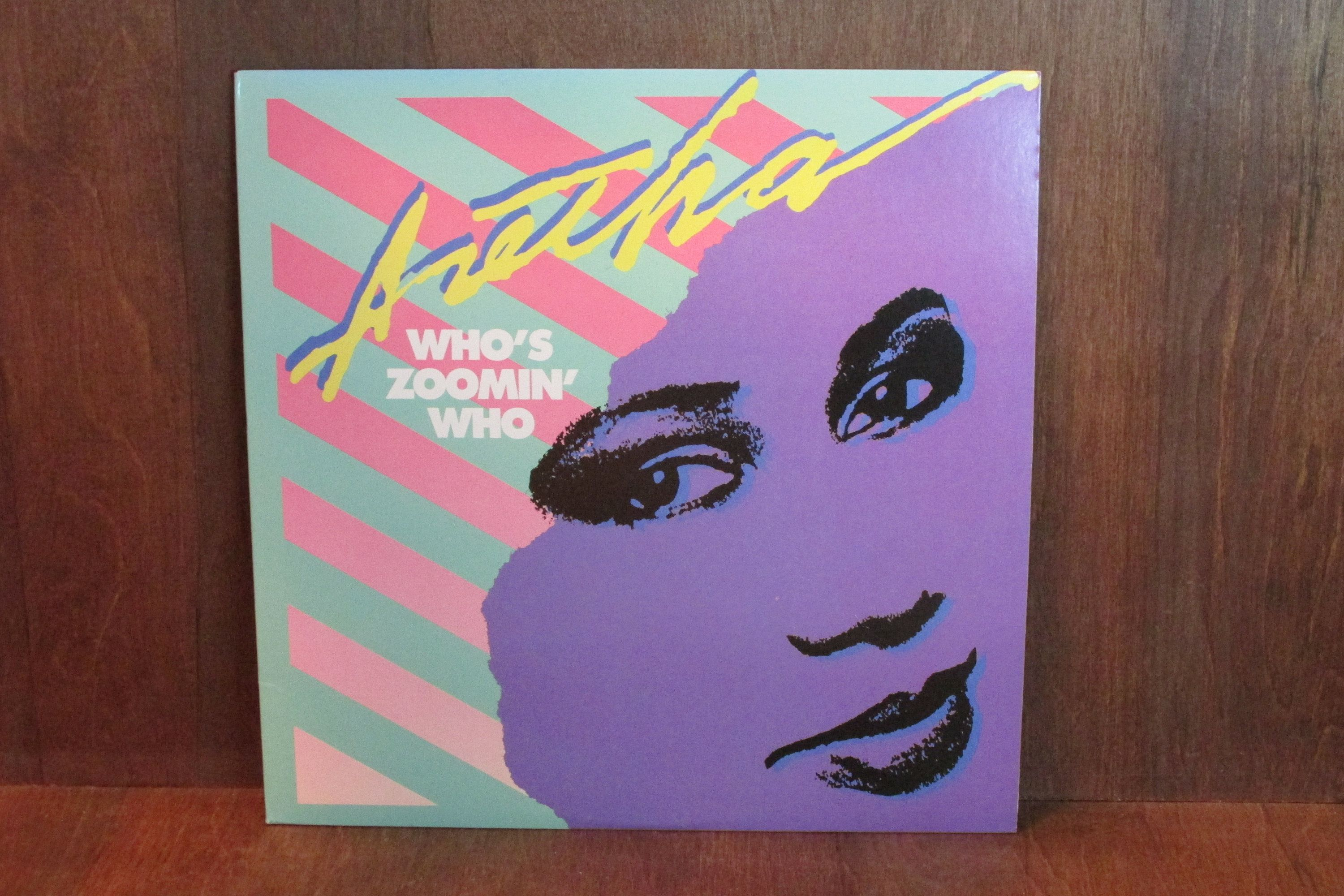 Aretha Franklin Who S Zoomin Who Vintage Vinyl Record