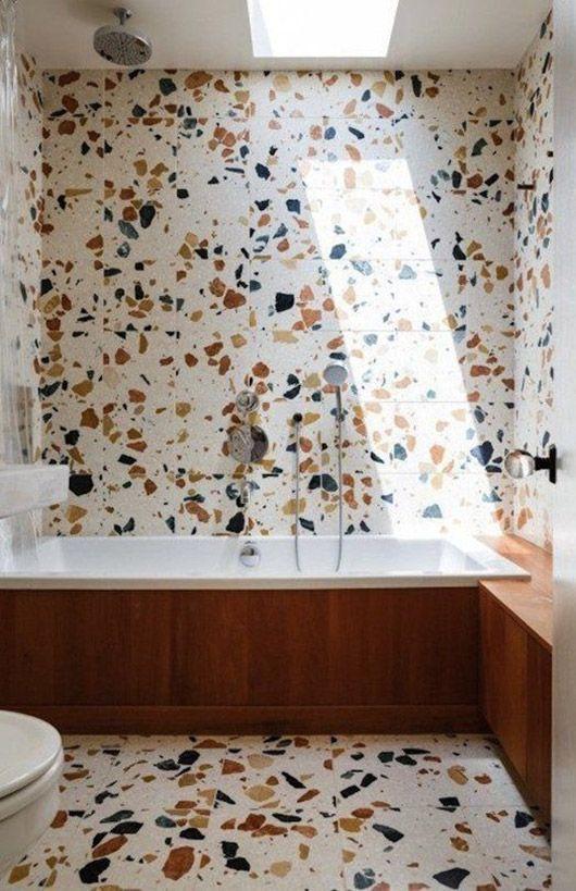 Terrazzo Bathroom Walls Sfgirlbybay