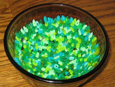 Melting Perler Bead Bowls - Fun kids craft