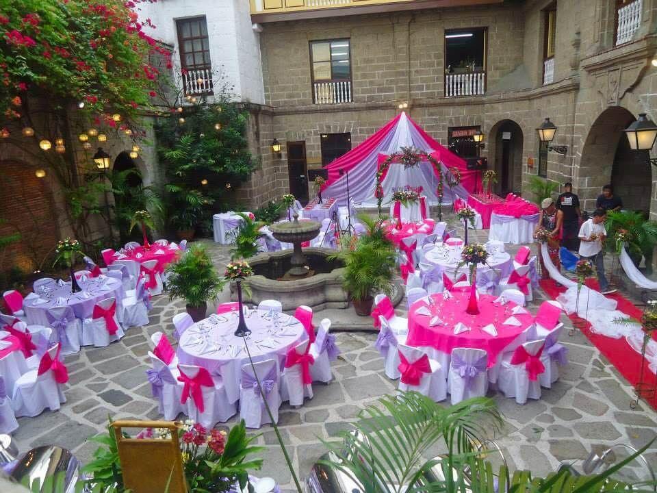 Casa Manila Patio Hizon S Catering Best Wedding Venues White Wedding Flowers Wedding Venues