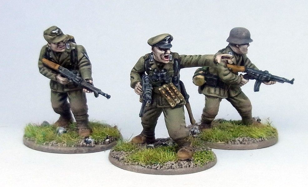 Late war German infantry, plastic minis from Warlord Games