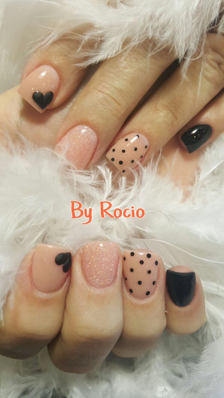 SNS nails (dipping powder) with 3d nail art ! | Ain\'t nothing but a ...