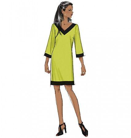 B5415 Misses\'/Misses\' Petite Dress (size: XSM-SML-MED) | Project Sew ...