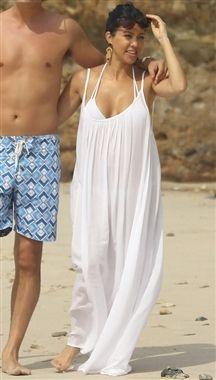 9 Seed Tulum Dress In White As Seen On Kourtney Kardashian Beach