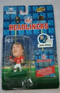1996 John Elway NFL Headlines Figure-Denver Broncos- MIP
