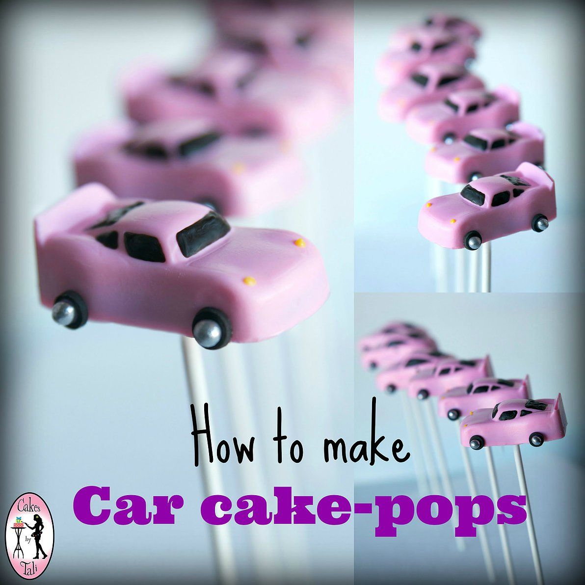 A very clever idea for making race car cake pops for a birthday a very clever idea for making race car cake pops for a birthday party a baditri Choice Image