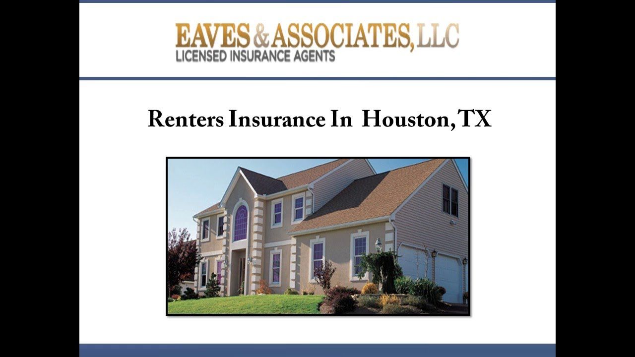 For Affordable Renters Insurance In Houston Tx Consider Eaves