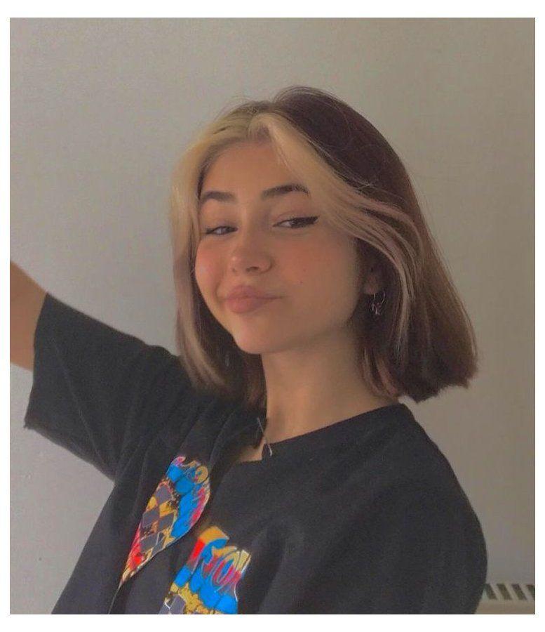 pretty people girls short hair
