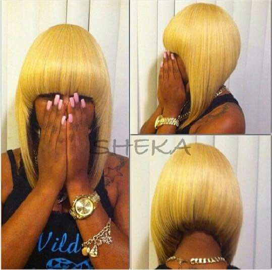 Quick weave quick weave bob pinterest quick weave bobs and quick weaves black bob hairstylescut pmusecretfo Image collections