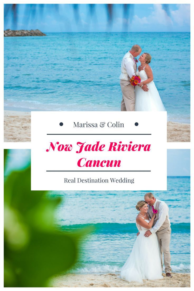 Marissa u colin u now jade beach wedding inspiration wedding