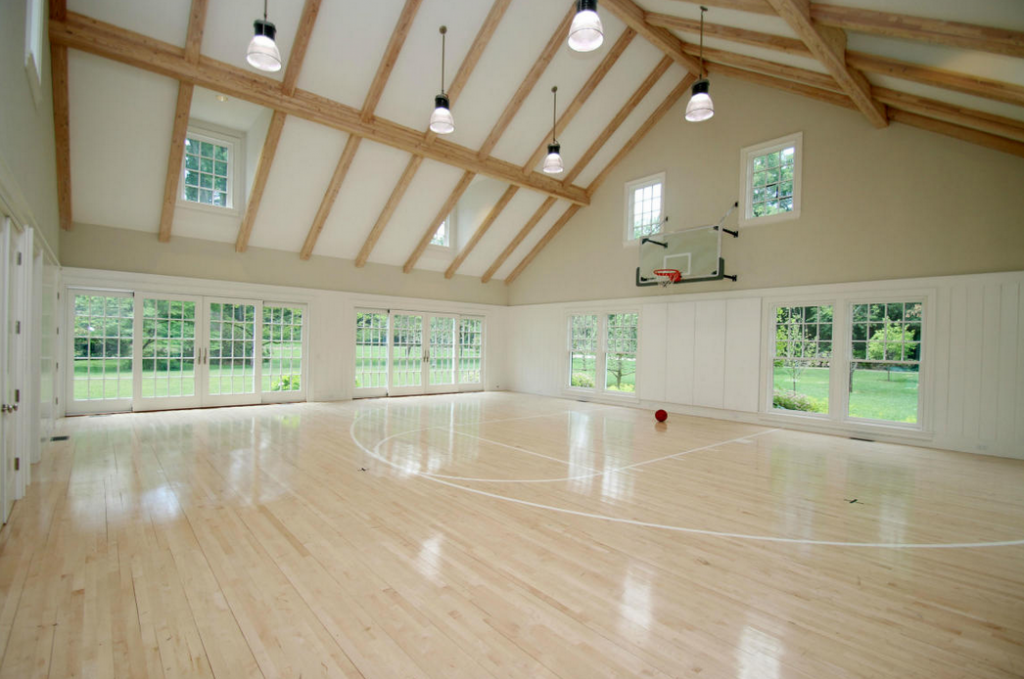 13 000 Square Foot Colonial Mansion In New Canaan Ct Basketball Court Backyard Home Basketball Court Indoor Basketball Court