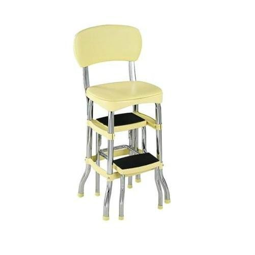 Sensational Details About 45Cm High Bar Stool Retro Vintage Steel Pabps2019 Chair Design Images Pabps2019Com