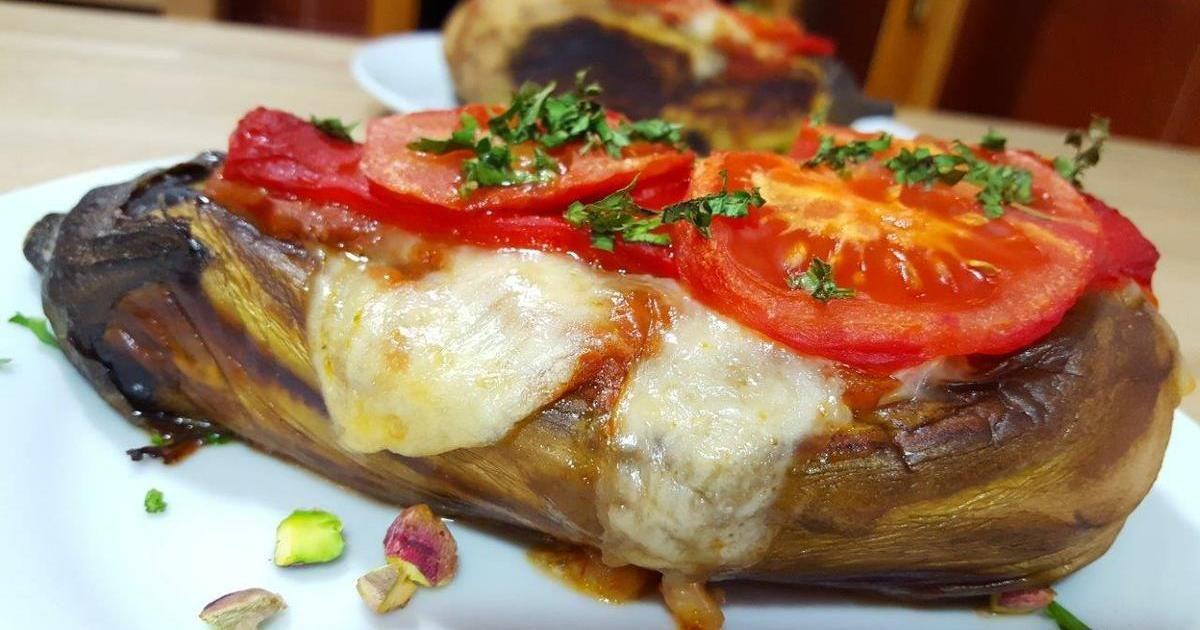 Berenjenas rellenas a la turca  turquia  Berenjenas rellenas Berenjenas rellenas carne y Recetas Turcas
