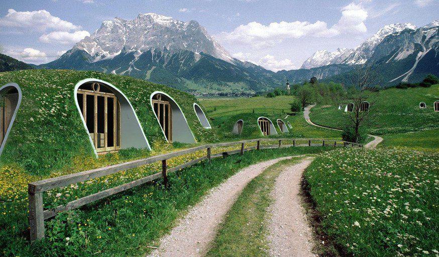 Découvrez Ces Petites Maisons Incroyables De Hobbits à Monter Soi Même En  Trois Jours